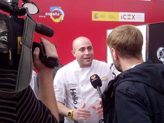 Helio entrevistado por Antena 3